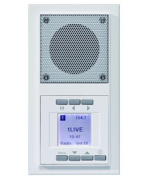 радио в стену