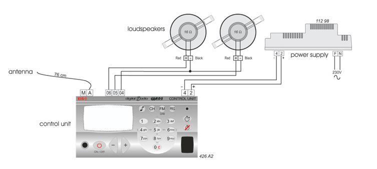 радио схема подключения