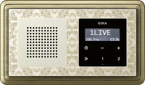 встраиваемое радио gira